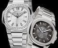 Patek Philippe introduces the casually elegant Nautilus for ladies.