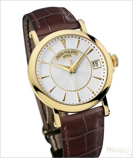 Patek Philippe Calatrava officer's watch 3