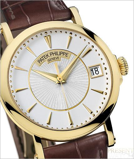 Patek Philippe Calatrava officer's watch 4