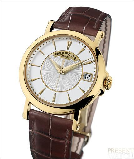 Patek Philippe Calatrava officer's watch 5