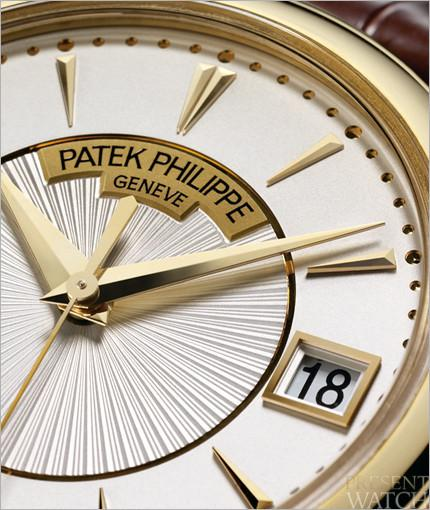 Patek Philippe Calatrava officer's watch 7