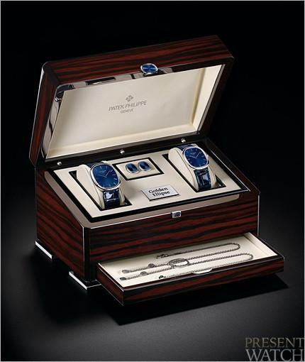 Patek philippe The Golden Ellipse Anniversary box
