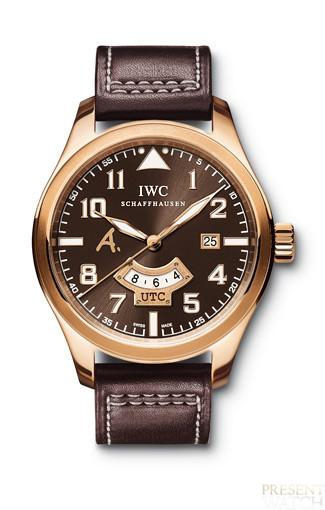 IWC Pilot's watch UTC Edition Antoine de Saint Exupéry in Rose Gold