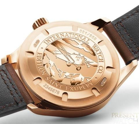IWC Pilot's watch UTC Edition Antoine de Saint Exupéry in Rose Gold 2