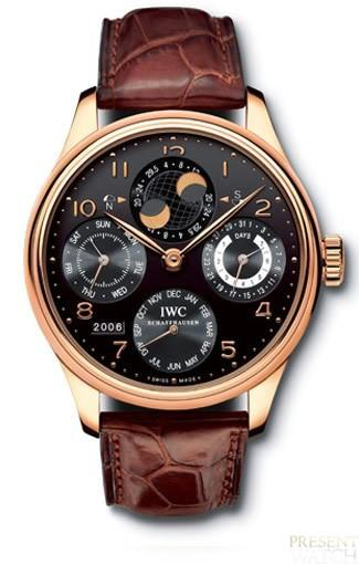 Rain and his IWC Portuguese Perpetual Calendar double moon phase