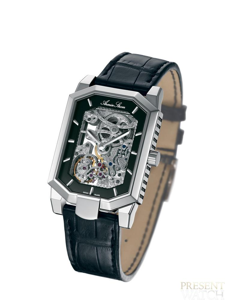 Armin Strom Skeleton Square Man white
