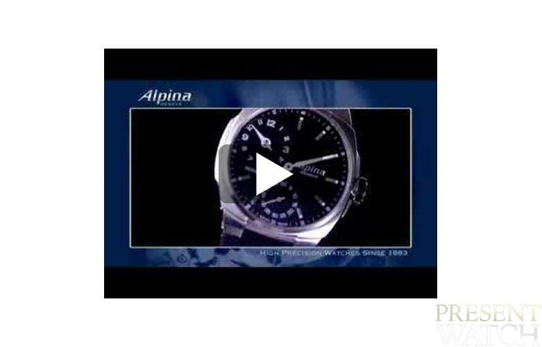 Alpina watches in video
