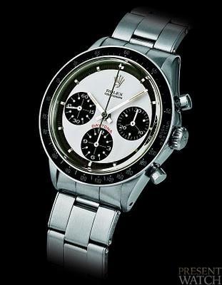 Auction of the 'Paul Newman' Rolex Daytona