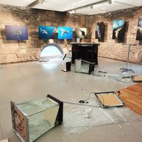 Blancpain Exhibition burglary attempt