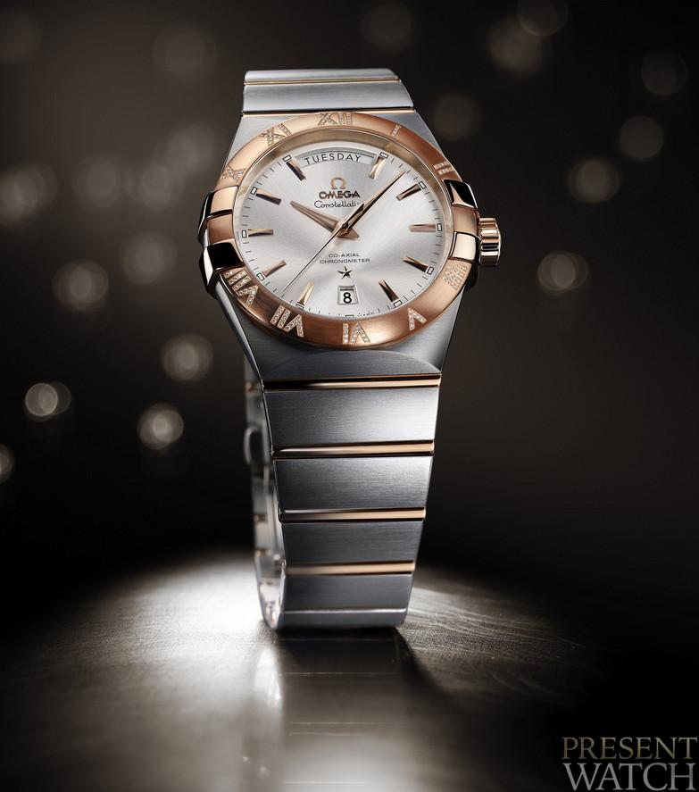 Luxury constellation 38 mm Day-Date by OMEGA