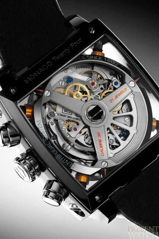 MONACO TWENTY-FOUR CALIBRE 36 CHRONOGRAPH