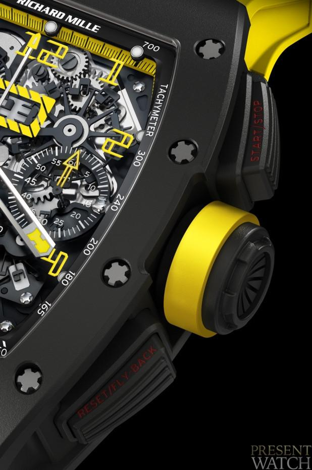RM 011 FELIPE MASSA FLYBACK CHONOGRAPH CARBON