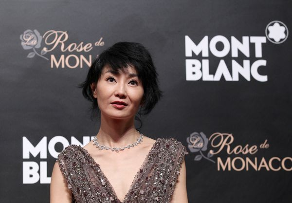 Maggie Cheung and Montblanc