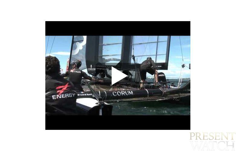 Day 1 America's Cup in Newport - The sixth Man