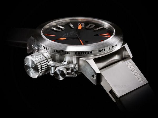 7c107275f83 U-BOAT CLASSICO 1001 ORANGE watch - Presentwatch.com