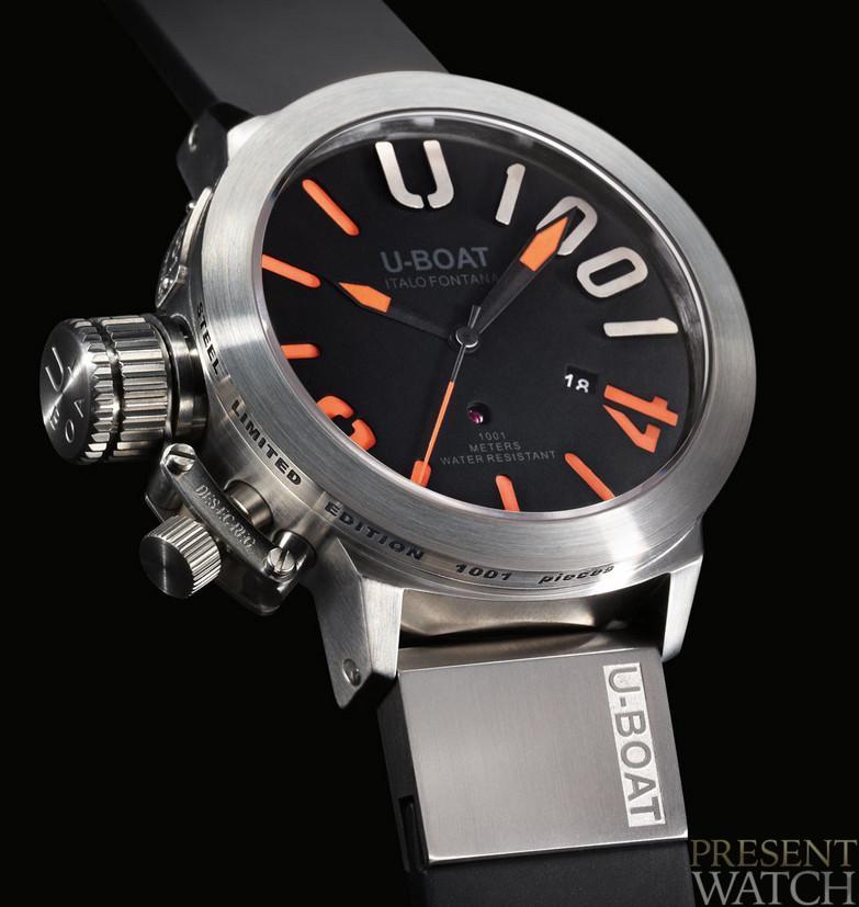 U-BOAT CLASSICO 1001 ORANGE watch - Presentwatch.com