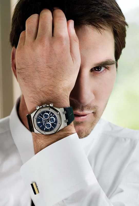 ROYAL OAK LEO MESSI PLATINUIM