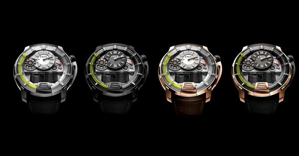 H1 HYDRO MECHANICAL WATCH