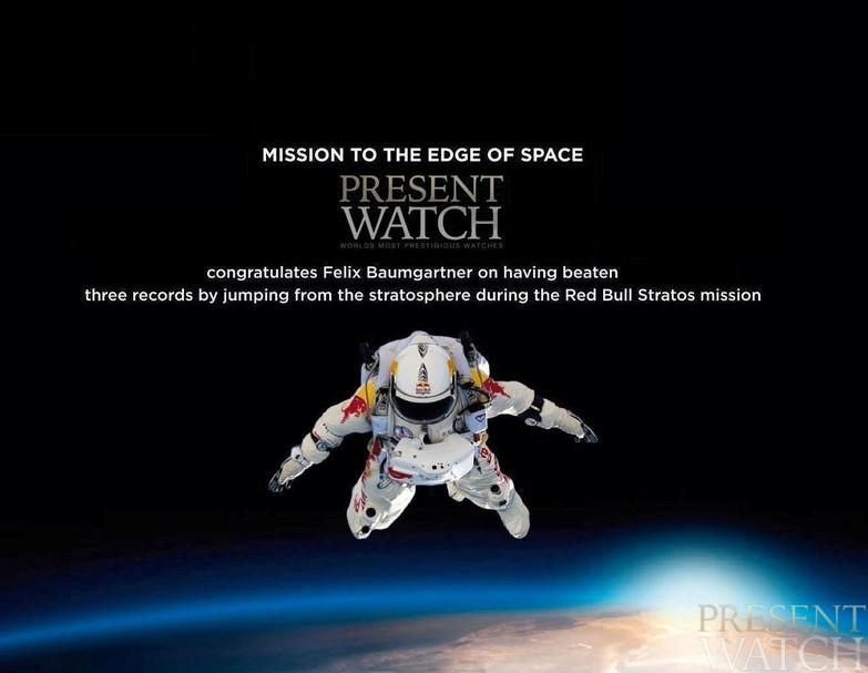 ZENITH & FELIX BAUMGARTNER - THE MISSION