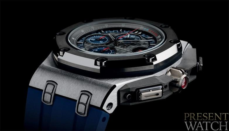 Royal Oak Offshore Chronograph Platinum Watch