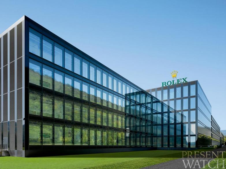 THE ROLEX BUILDING AND HIS XXI CENTURY FACTORY