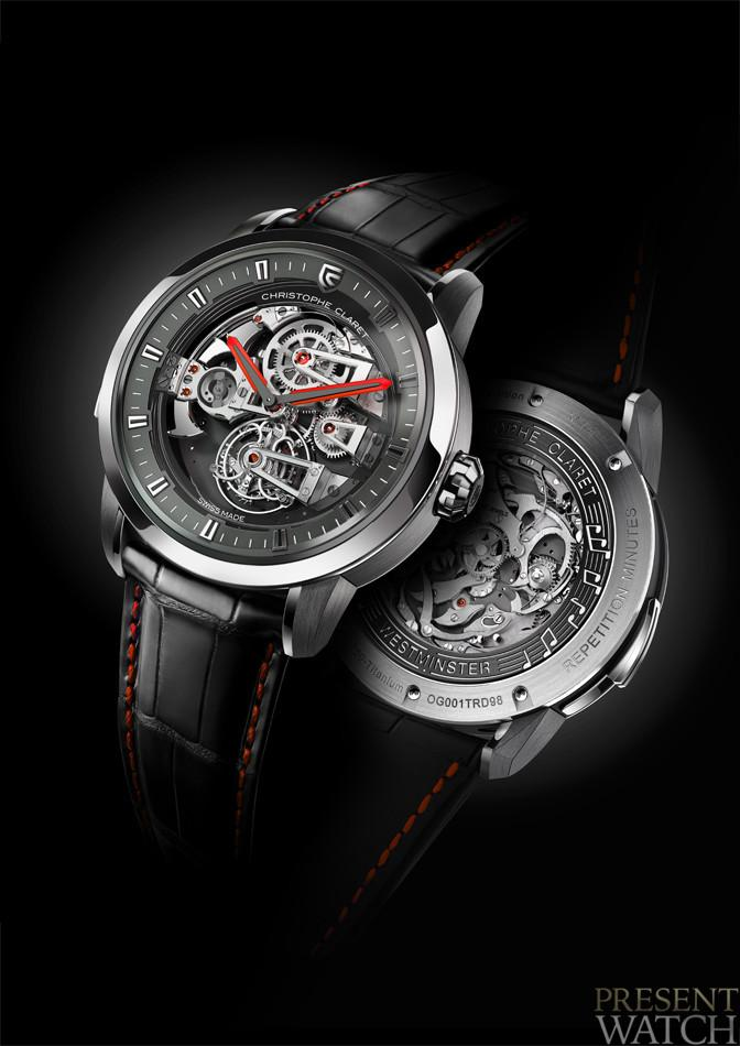 SOPRANO TOURBILLON MINUTE REPEATER