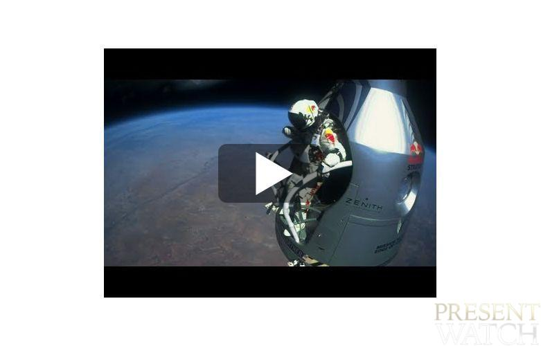 ZENITH & FELIX BAUMGARTNER - VIDEO OF THE MISSION