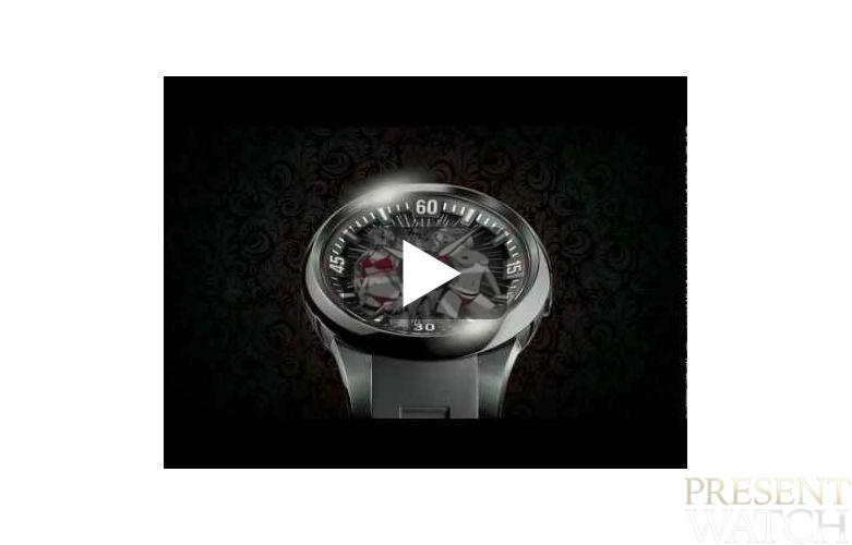 Perrelet manga watches in video