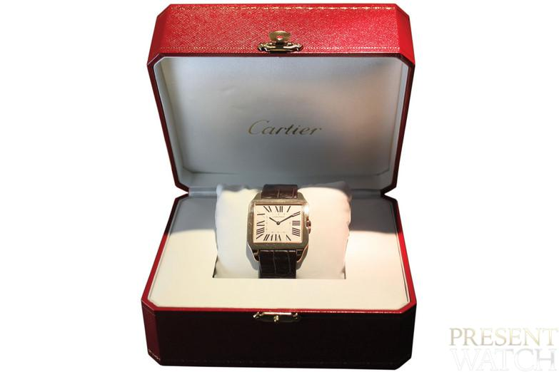 "Cartier ""Santos Dumont"". Made in circa 2010."