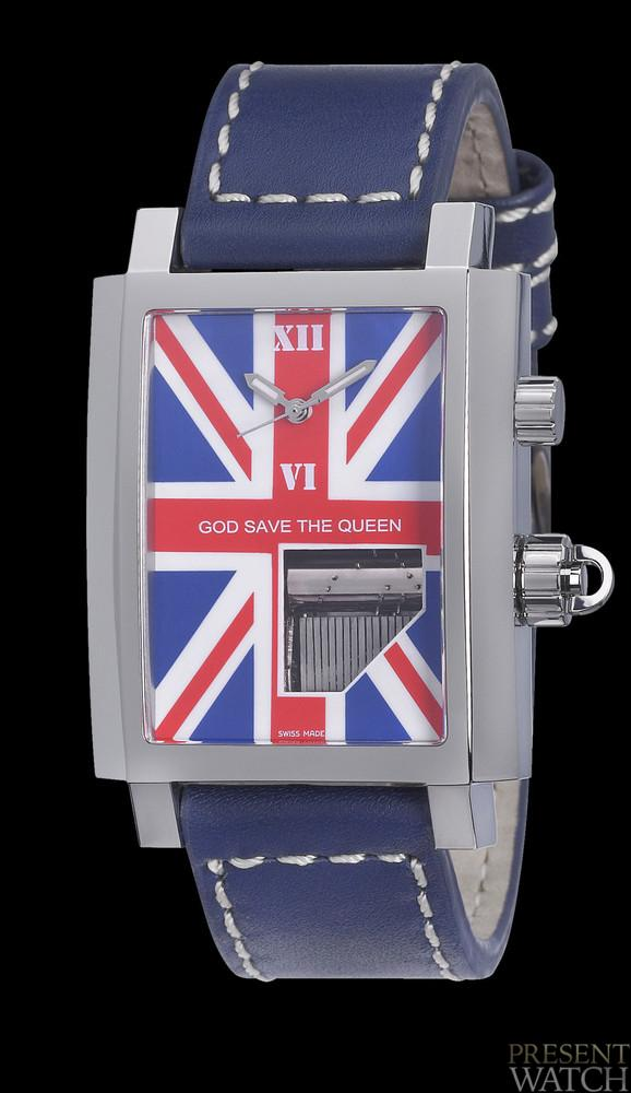 BOEGLI UNION JACK Presentwatch
