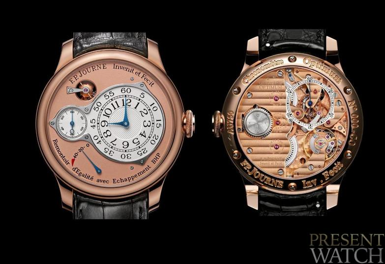 CHRONOMÈTRE OPTIMUM RED GOLD