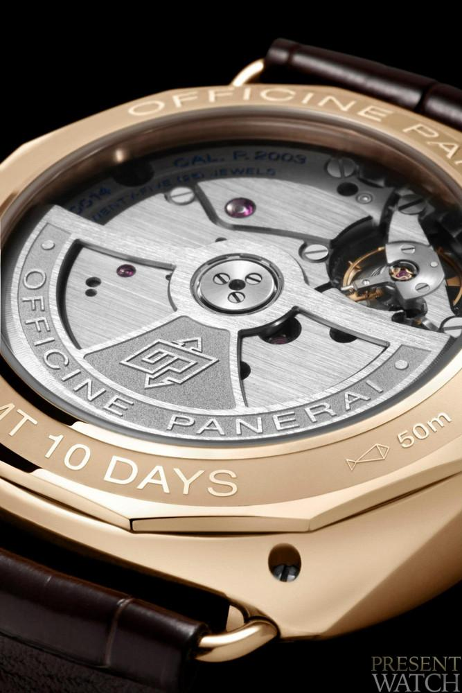 RADIOMIR 10 DAYS GMT ORO ROSSO