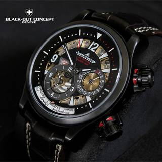 Jaeger Lecoultre watch customized by Blackout Concept