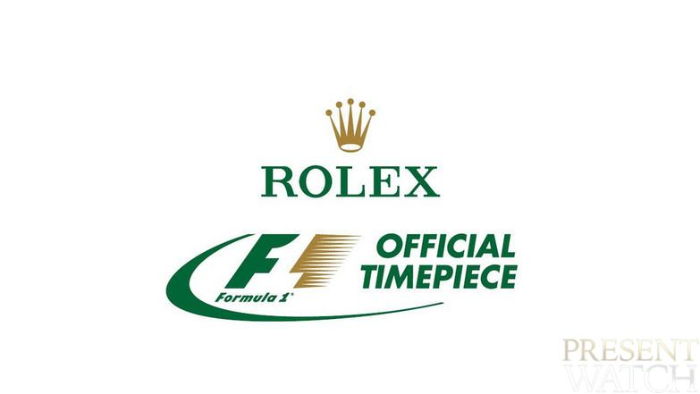 ROLEX OFFICIAL TIMEKEEPER OF FORMULA 1