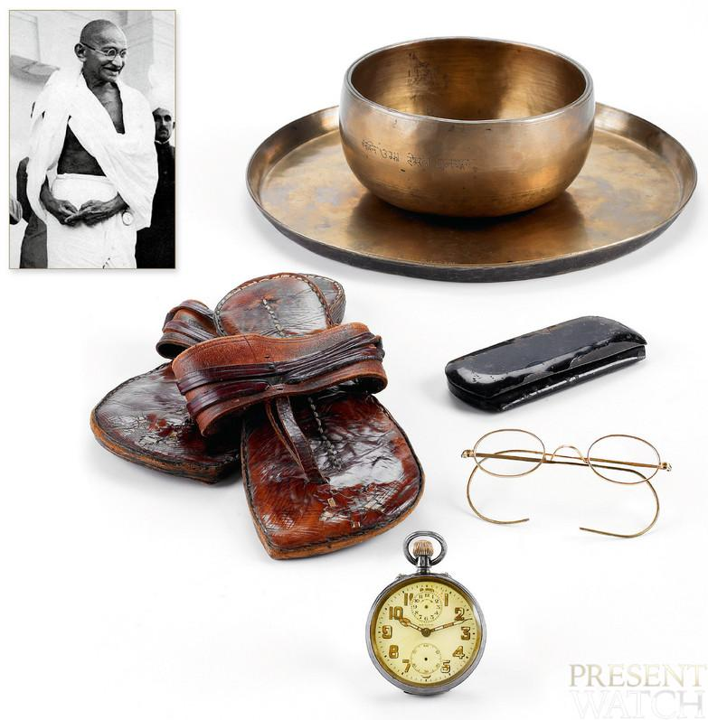 GANDHI'S ALARM POCKET-WATCH