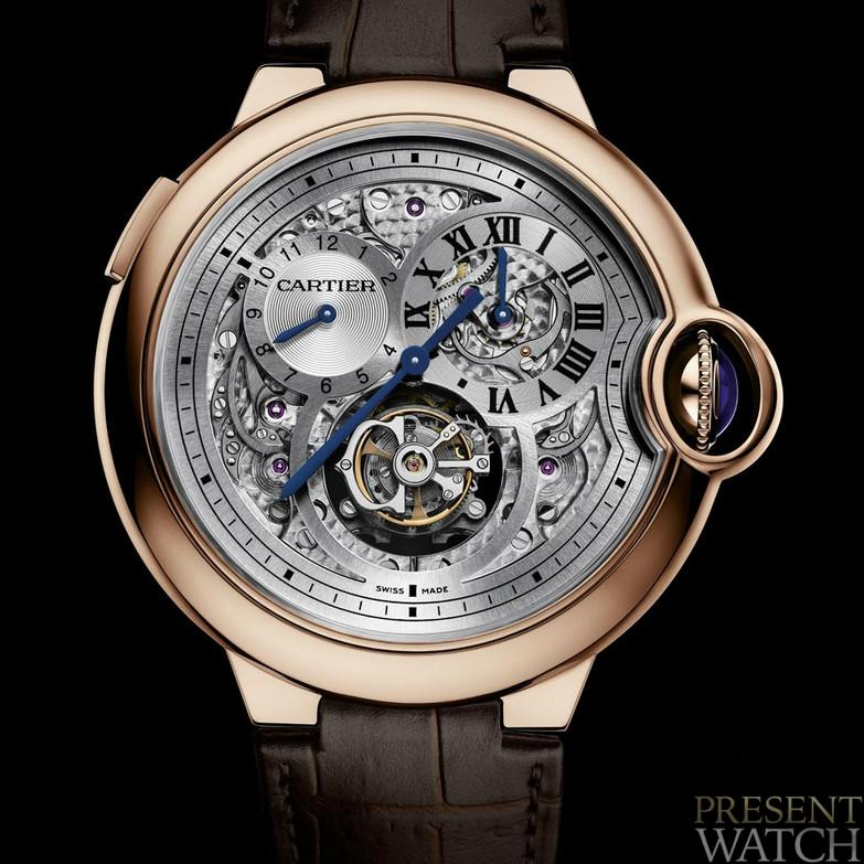 BALLON BLEU TOURBILLON JUMPING SECOND TIME ZONE