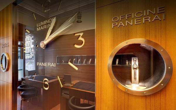 OFFICINE PANERAI BOUTIQUE IN FIRENZE