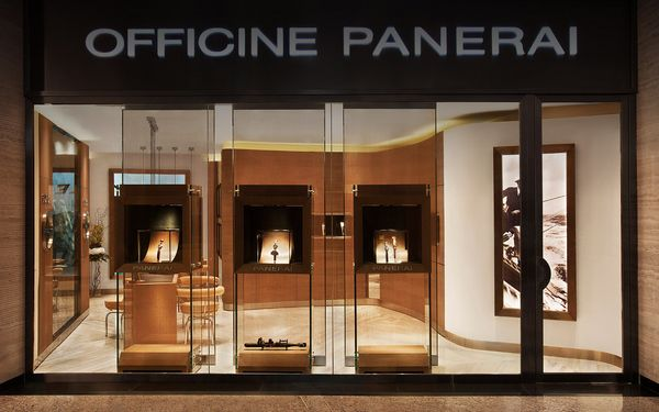 OFFICINE PANERAI BOUTIQUE IN ABU DHABI ETIHAD TOWERS