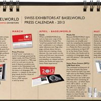 Swiss Exhibitors at Baselworld 2013