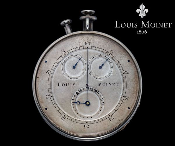 First Cronograph Louis moinet