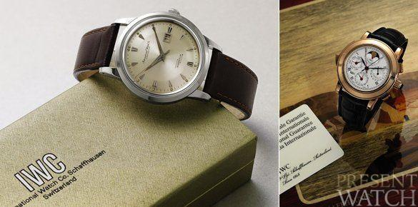 IWC Vintage Watch Sale at Sotheby's