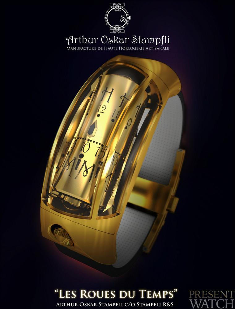 Discover the new Arthur Oskar Stampfli - The Wheels of Time