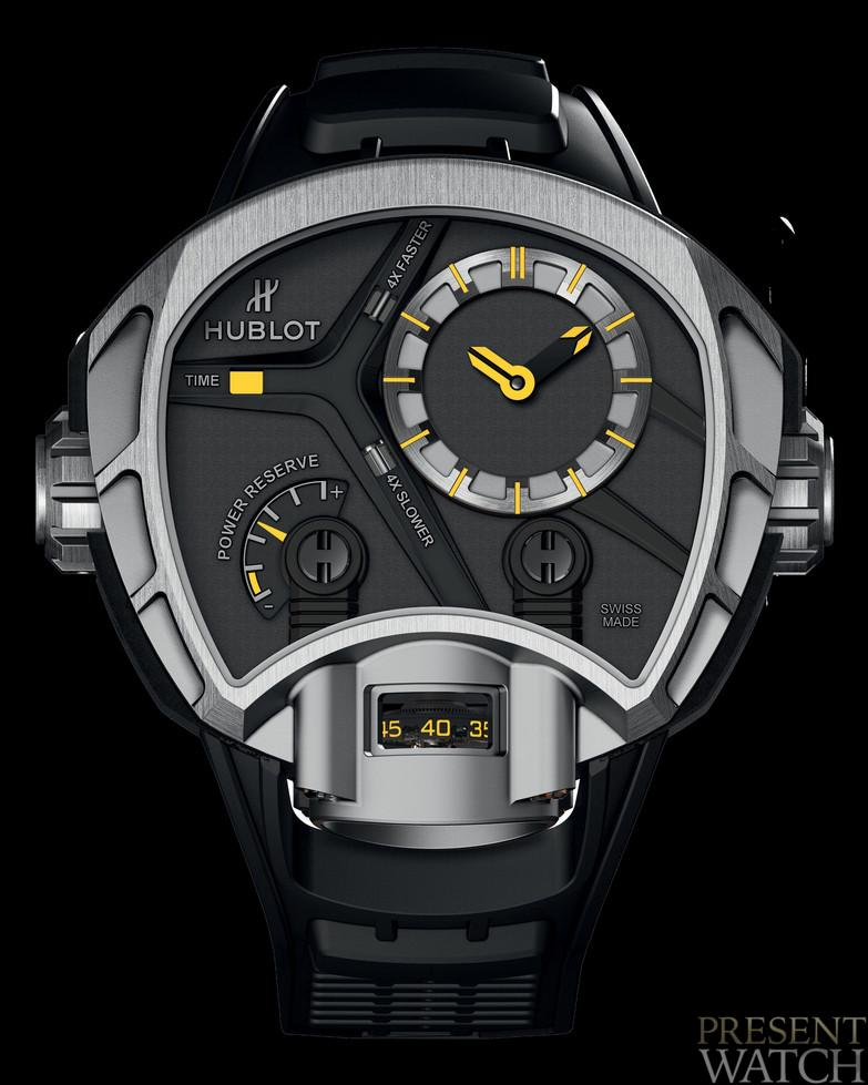 Enjoy the new Hublot MP-02 Key of time