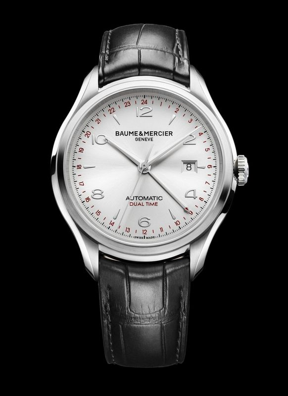 93475b7f13f Discover the Baume   Mercier Clifton GMT watch - Presentwatch.com