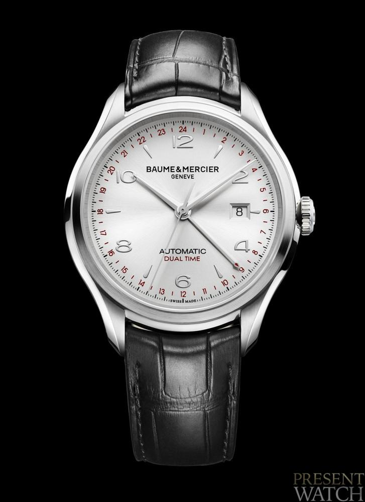 Discover the Baume & Mercier Clifton GMT