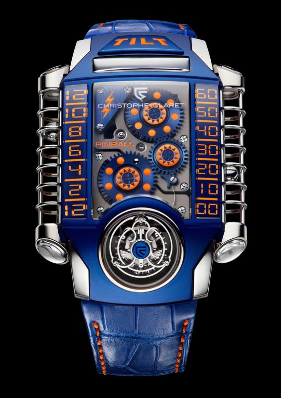 Discover the new Christophe Claret x-tream 1 Pinball only watch
