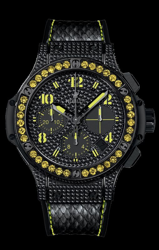 Discover the Hublot Big Bang Black Fluo Collection