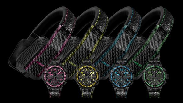 Luxury headphones from Hublot and Monster