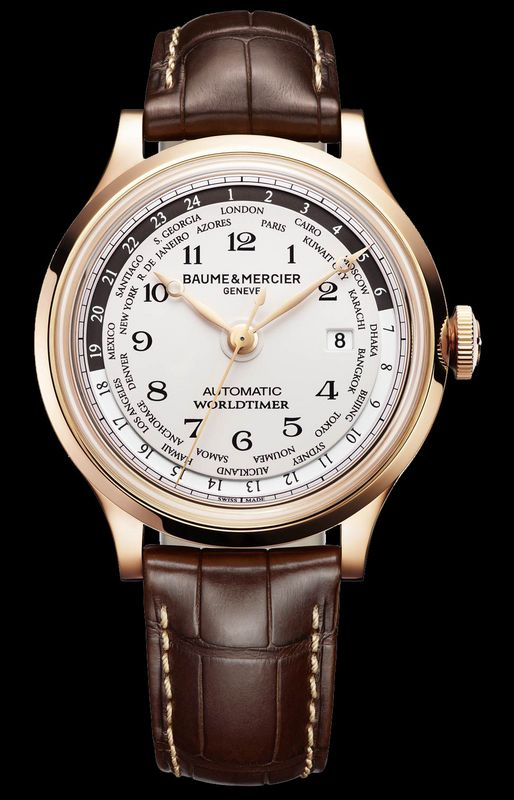 Discover the Baume & Mercier Capeland Worldtimer