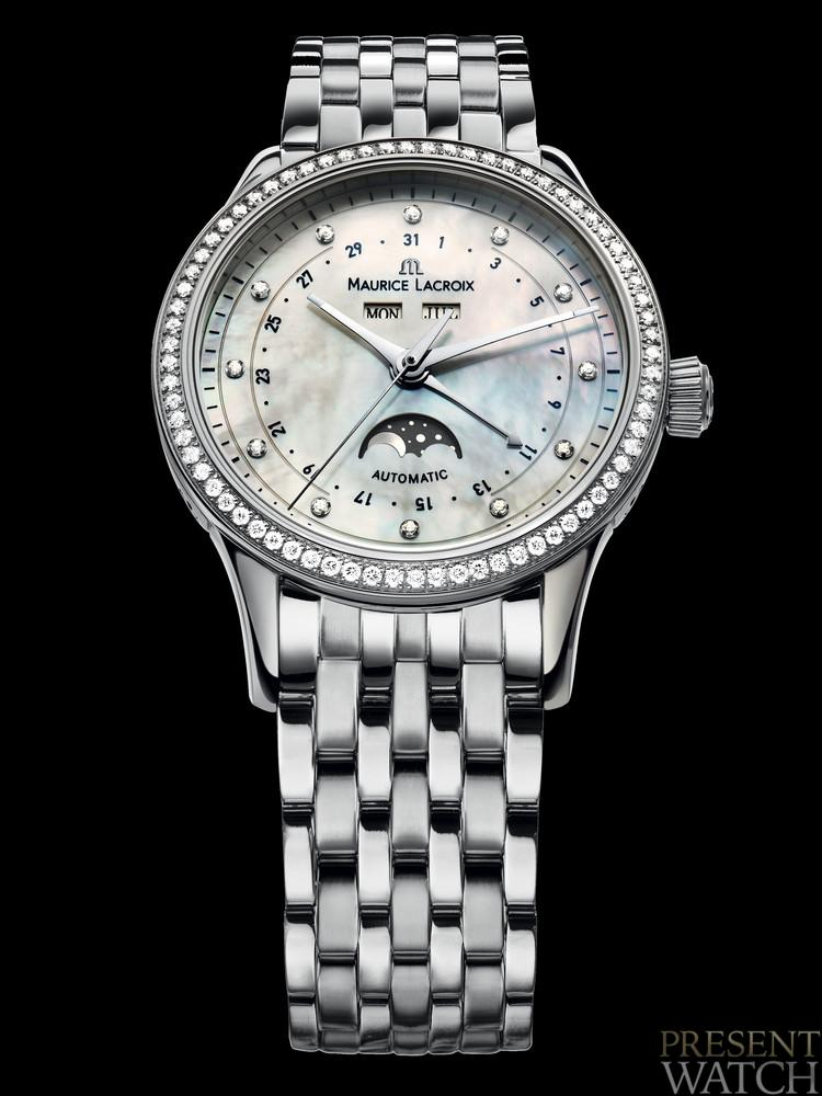 Discover the Maurice Lacroix Phases de Lune Automatique Ladies